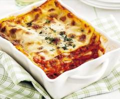 lasagna, carne, ragù, salumi