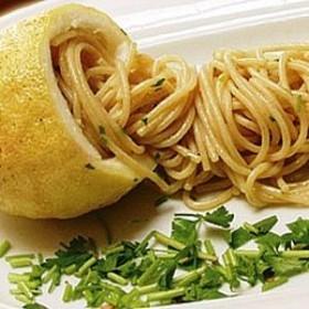 Spaghetti al limone le ricette di al sangue for Spaghetti ricette